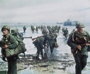 le 06 juin 1944, le débarquement en normandie